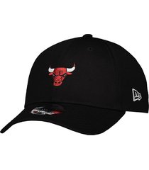 boné new era nba chicago bulls brand preto