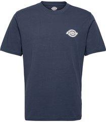 bigfork t-shirts short-sleeved blå dickies