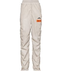 heron preston coulisse ruched track pants - grey