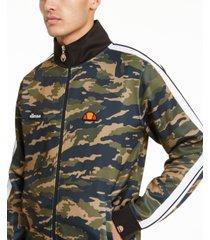 ellesse men's natisone camo track jacket