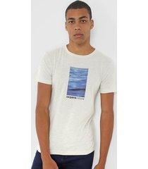 camiseta osklen oceans verde