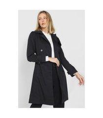 casaco trench coat banana republic botões preto