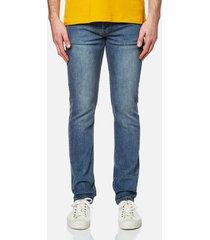 a.p.c. men's petit new standard jeans - indigo - w36 - blue