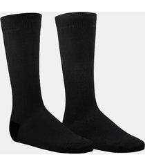calcetin bipack negro fagus