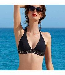 bikini·top·ajourage·couture·zwart