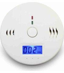 detector alarma sensor de monóxido de carbono lcd