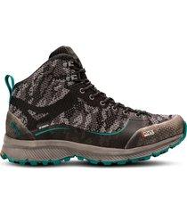 zapato impermeable light rock mid gris petroleo lippi