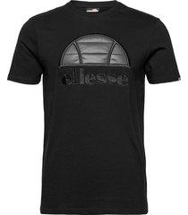 el quil tee t-shirts short-sleeved svart ellesse