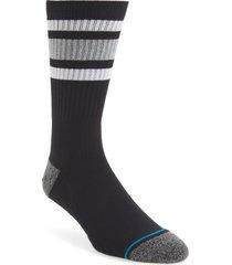 men's stance boyd st. socks, size large - black