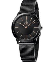 reloj calvin klein para mujer - minimal  k3m22421