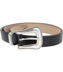 b-low the belt cintura wylder croco