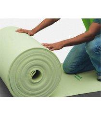 manta para piso laminado, eucatex eucafloor 2mm, 1,20m²