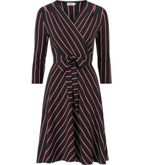 klänning celia stripe jersey dress