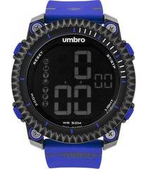 reloj digital azul umbro
