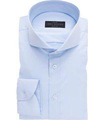 overhemd john miller blauw slim fit