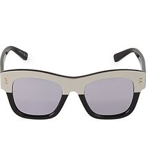 50mm square cat eye sunglasses