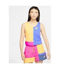 regata nike sportswear icon clash feminina
