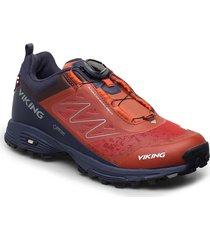 anaconda light boa gtx shoes sport shoes outdoor/hiking shoes röd viking