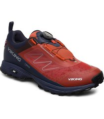 anaconda light boa gtx shoes sport shoes running shoes röd viking