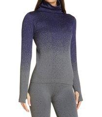 women's zella ombre seamless turtleneck top