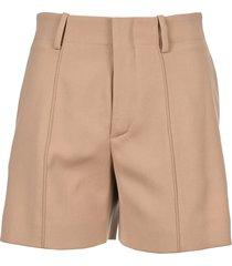 chloe high waist shorts
