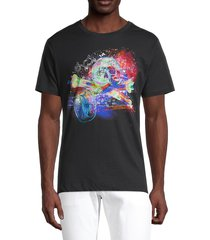 robert graham men's cruise control graphic t-shirt - black multi - size l