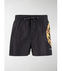 versace medusa head swimming shorts