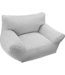 fotel sofa wypoczynkowa dla dzieci szary