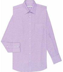 camisa formal diseño cuadros silueta basic fit para hombre 94174