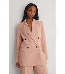 mango recycled blazer - pink