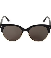 57mm novelty square sunglasses