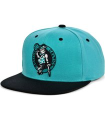 mitchell & ness boston celtics minted snapback cap