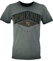 garcia stevig t-shirt off black slim fit