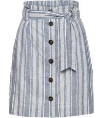 kjol med knytskärp