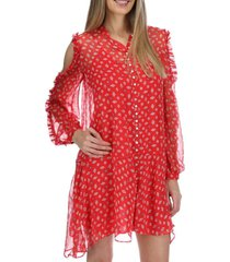 vestido corto avila rojo rockford