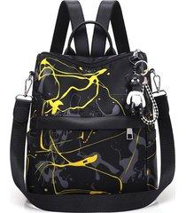 mochilas canvas mochila antirrobo mujer impermeable oxford travel bagpack