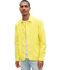 chaqueta amarillo gap