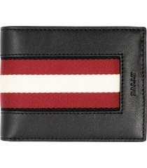 bally bydan logo leather wallet