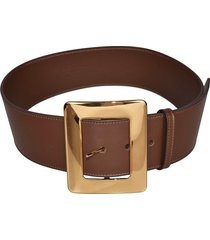 erika cavallini oversized buckle belt