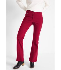 bengaline stretch broek, flared