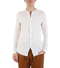 overhemd lange mouw bicolore 3916-miami