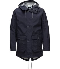 elements raincoat dun jack blauw helly hansen