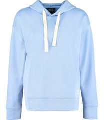 a.p.c. lyn cotton hoodie