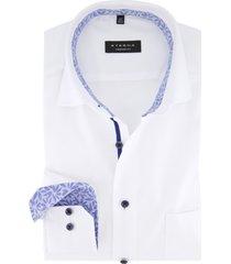eterna overhemd wit comfort fit borstzak