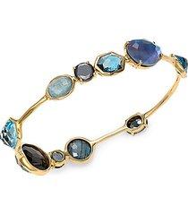 rock candy® 18k yellow gold multi-stone bangle bracelet