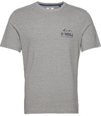 lm rocky mountains t-shirt t-shirts short-sleeved grå o'neill