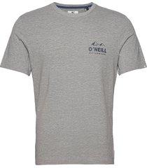 lm rocky mountains t-shirt t-shirts short-sleeved grå o'neill