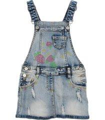 miss blumarine overall skirts