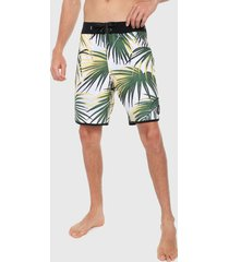 bermuda blanco-multicolor quiksilver highline sub tropic 19