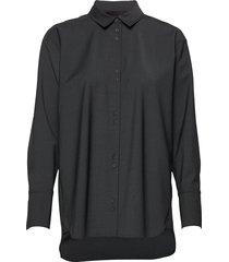 iw50 31 carolyniw shirt overhemd met lange mouwen grijs inwear